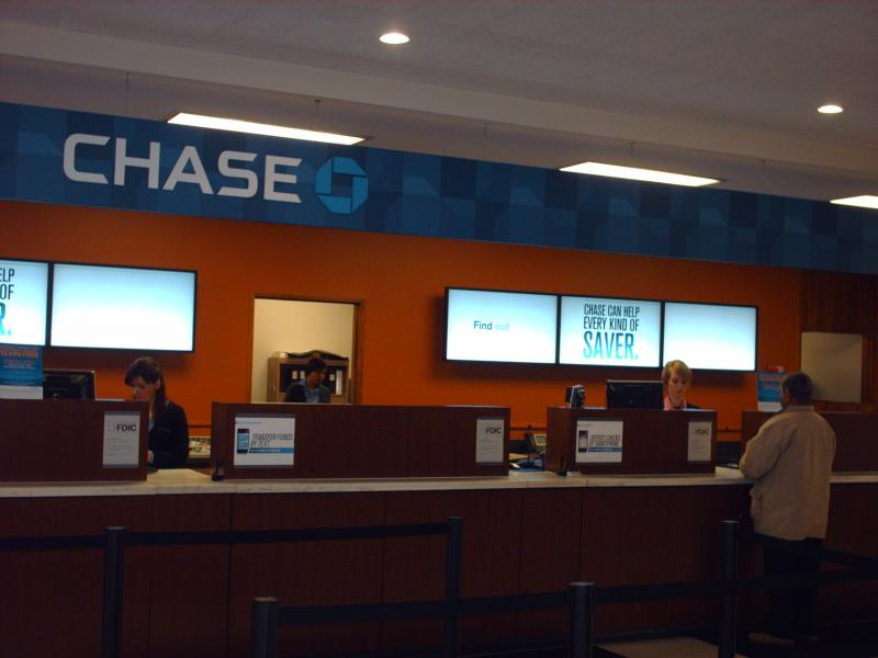 Chase Bank Remodel