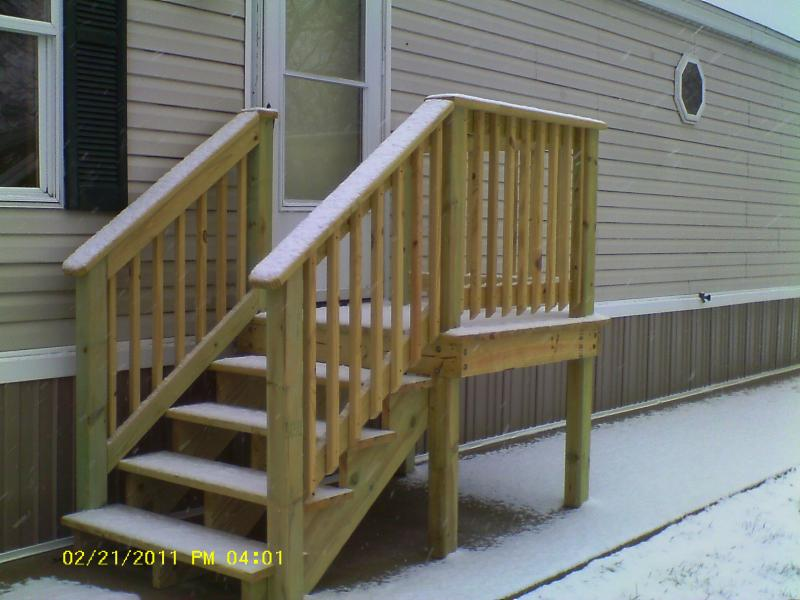 19 fresh manufactured home stairs kelsey bass ranch 60608 for Manufactured stairs